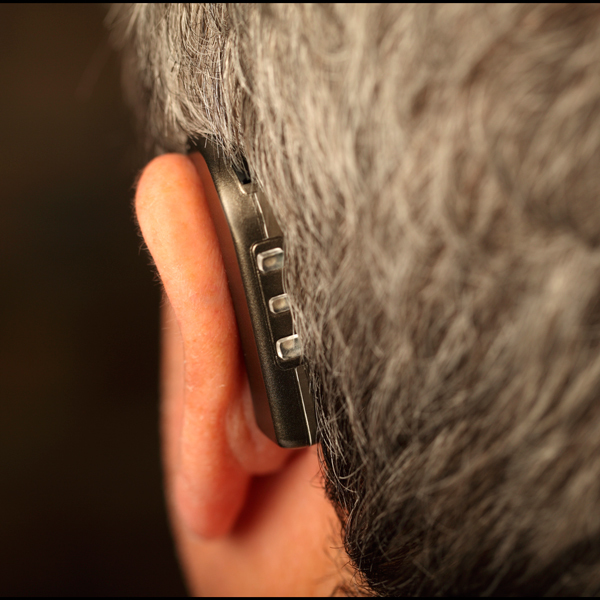 Side-Kick Hearing Aid